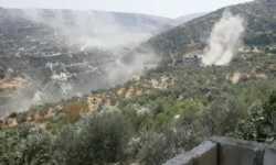 مروحيات الأسد تستهدف تلة