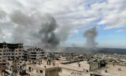 استمرار القصف الروسي على إدلب بعد قمة بوتين-أردوغان