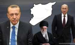 الثلاثي الضامن في سورية بين التحالف والتصادم