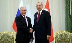 أردوغان وبوتين يبحثان آخر التطورات في إدلب