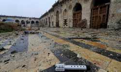 الجامع الأموي الكبير بحلب خلال الثورة