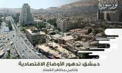 دمشق: تدهور الأوضاع الاقتصادية وتنامي مظاهر الفساد