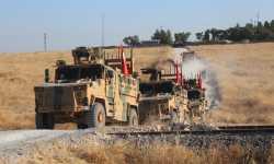 الجيش التركي يسير الدورية البرية الثانية في المنطقة الآمنة شرق الفرات