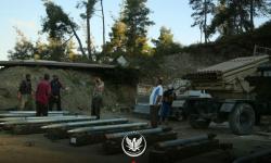 قصف صاروخي يستهدف قاعدة لقوات الأسد شمالي حماة