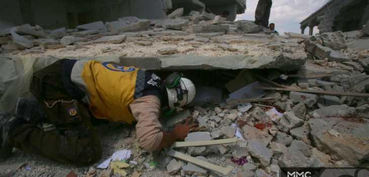 نظام الأسد ينتقم لهزائمه بقصف المدنيين .. مجزرة مروعة في