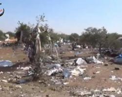 أخبار سوريا_ 60 قتيلاً وأكثر من 190 جريحاً في قصف لقوات الأسد على مخيم للنازحين بإدلب، وغوطة دمشق تكسر حصار الطاقة وتنتج الغاز الحيوي_ (29-10- 2014)