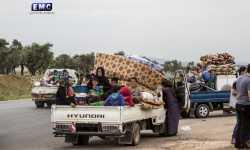 نحو 400 ألف شخص نزحوا من مناطقهم منذ بداية التصعيد في الشمال