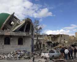 تدمير 1000 مسجد في سوريا