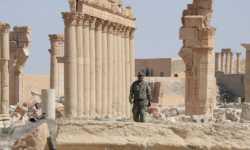 الجيش الروسي يبني قاعدة عسكرية داخل المدينة الأثرية في تدمر