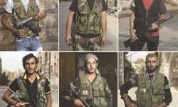 المقاتلون على الجبهة السورية لكل قصته