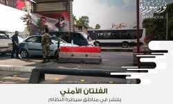 الفلتان الأمني ينتشر في مناطق سيطرة النظام
