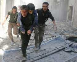 مصنع مهجور في حلب يتحول إلى ملجأ للنازحين
