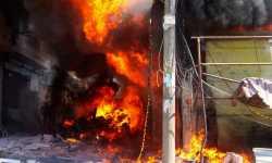 حصاد أخبار الثلاثاء - ضحايا جراء انفجار ضخم في ريف عفرين، وتسيير الدورية البرية الثانية في المنطقة الآمنة شرق الفرات -(24-9-2019)