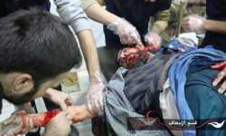 شهداء وجرحى في دوما بقصف مدفعي من قبل قوات النظام