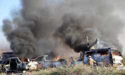 قصف جوي يستهدف مليشيات إيرانية شرقي سوريا
