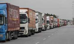 55 شاحنة مساعدات أممية تدخل إدلب