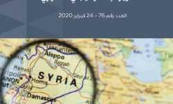التقرير الاستراتيجي السوري (76)