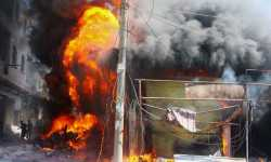 ضحايا جرّاء انفجار ضخم في