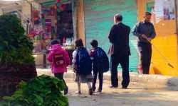 في مدينة حلب العريقة