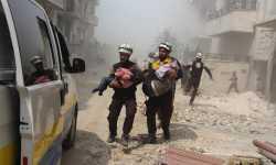 حصاد أخبار الخميس - شهداء وجرحى نتيجة قصف للنظام على بلدات ريف حماة، وتنظيم الدولة يعلن مسؤوليته عن تفجيرين في منبج -(11-4-2019)